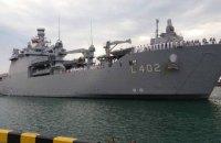 До Одеси з дружнім візитом прибув турецький десантний корабель