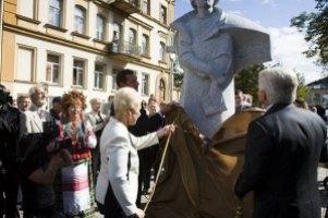 В Литве открыли памятник Шевченко