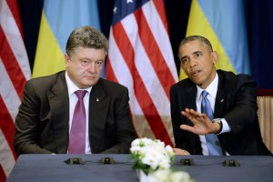 Порошенко поговорил с Обамой