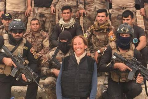Французька журналістка померла після поранення під час вибуху вМосулі