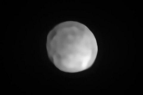 Астероїд Гігея визнаний найменшою карликовою планетою Сонячної системи
