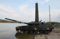 На полігоні в Миколаївській області танкісти провели підводні навчання
