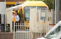 В Сиднее поезд врезался в ограждение на станции