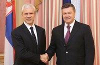 Янукович намерен активизировать сотрудничество с Сербией