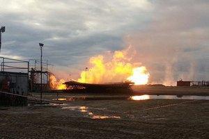 """На Ямалі загорілася газова свердловина """"Газпрому"""""""