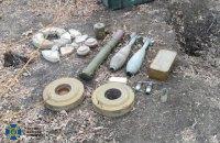 СБУ виявила у Донецькій області та Херсоні ворожі схрони з патронами та вибухівкою