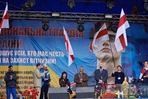 На Майдані розбирають сцену