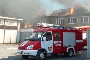 В Виннице загорелся 5-этажый жилой дом