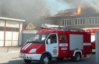 У Вінниці загорівся 5-поверховий житловий будинок