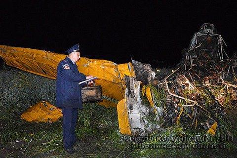 На Волыни разбился сельскохозяйственный самолет, пилот погиб