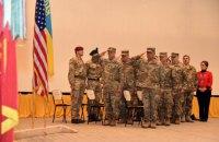 На Яворовском полигоне состоялась ротация американских военных