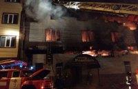 У Харкові згоріла сауна, постраждали двоє людей