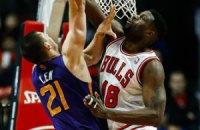 НБА: українцю не вистачило трьох очок для дабл-даблу