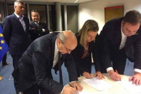 Сербія і Косово домоглися прориву в переговорах про нормалізацію відносин