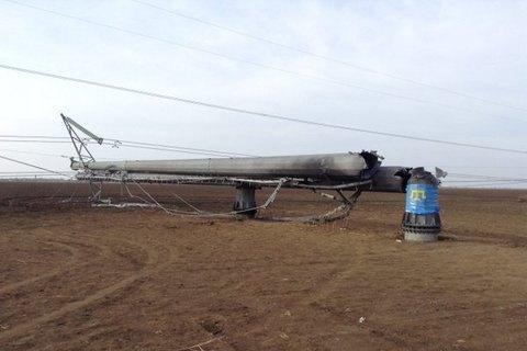 """""""Укрэнерго"""" подключила одну из ЛЭП в Крым"""