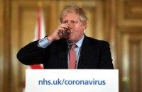 Борис Джонсон назвал коронавирус самым тяжелым кризисом в области здравоохранения для нынешнего поколения