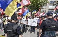 Полиция проведет служебную проверку действий полицейского при задержании участников акции в Киеве