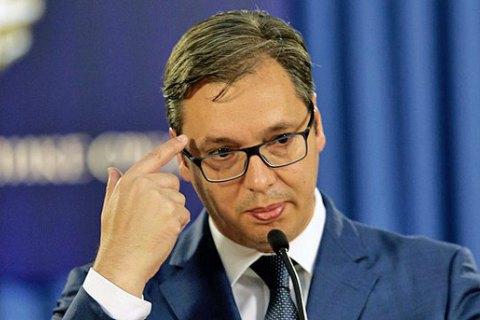 У Белграді автомобіль протаранив кортеж президента Сербії