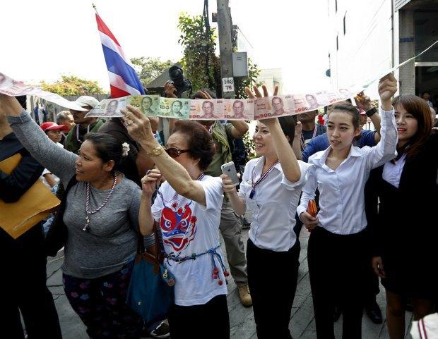 акция протеста в день выборов