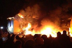 Львівські активісти увірвалися на територію військової частини