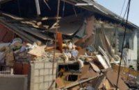 На Закарпатті через вибух газової установки в автомобілі завалився будинок
