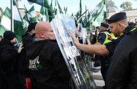 Демонстрация неонацистов в шведском Гётеборге завершилась столкновениями