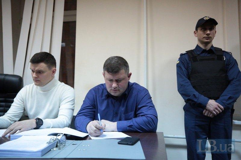 Прокуроры Игорь Земсков и Олег Багнюк