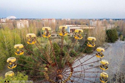 Від початку року Чорнобиль відвідали 32 тисячі туристів