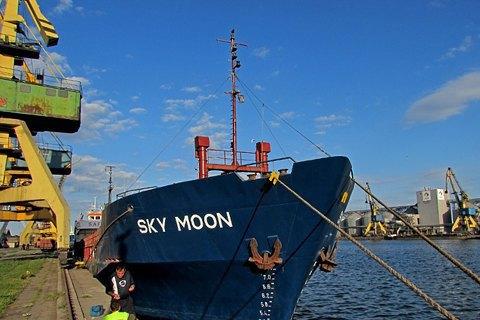 Україна затримала вантажне судно, яке заходило в Крим