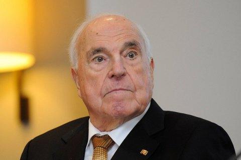 Умер бывший канцлер ФРГ Гельмут Коль
