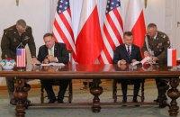 Польща та США підписали угоду про посилене оборонне співробітництво