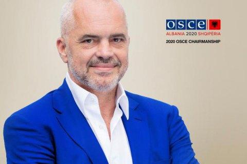 Албания возглавила ОБСЕ, определив Украину одним из приоритетов