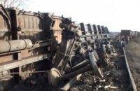 У Макіївці перекинулися вагони з вугіллям