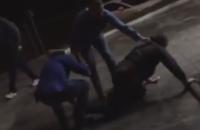 Охранники киевского супермаркета избили пенсионера