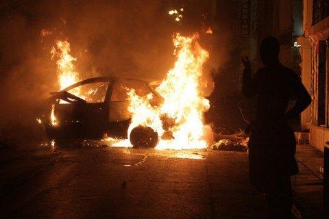 В Афинах неизвестные пытались поджечь Французский культурный институт