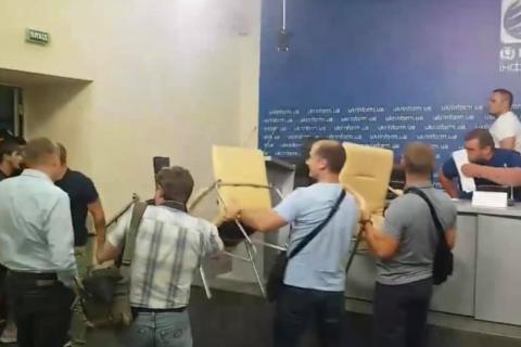 """Поліція кваліфікувала напад на """"Укрінформ"""" як хуліганство"""