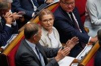 Тимошенко вважає антиконституційним зменшення кількості районів