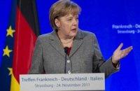 Меркель хоче більшої інтеграції Євросоюзу