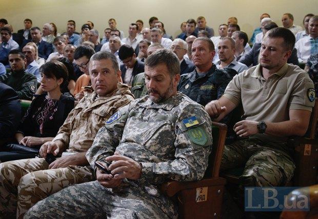 Константин Матейченко на съезде <<Народного фронта>>