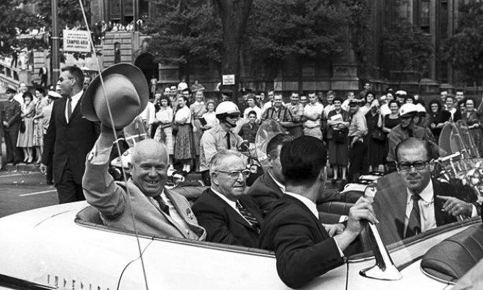 Визит советского лидера Никиты Хрущёва в США, 15 сентября 1959.