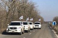 Вблизи патруля ОБСЕ на Донбассе прогремел взрыв