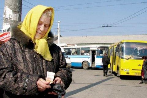 Во Львове льготы на проезд для пенсионеров отменили до конца карантина