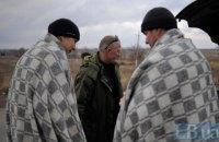 Трьох українських бійців звільнили з полону бойовиків на Донбасі