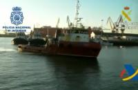 В Испании задержали судно с почти 4 тоннамы кокаина