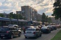 У Києві зійшов з рейок швидкісний трамвай