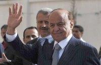 Президент Йемена договорился с повстанцами о прекращении огня