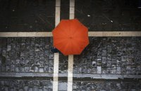 В воскресенье в Киеве небольшой кратковременный дождь