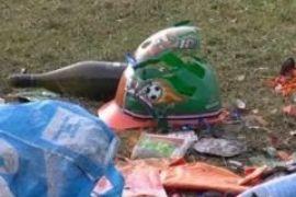Нидерланды после поражения в финале Чемпионата мира