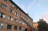 На Черкащині палав гуртожиток Уманського університету садівництва