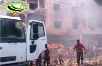 На автобусной стоянке при въезде в Алеппо прогремел взрыв, погибли десятки человек